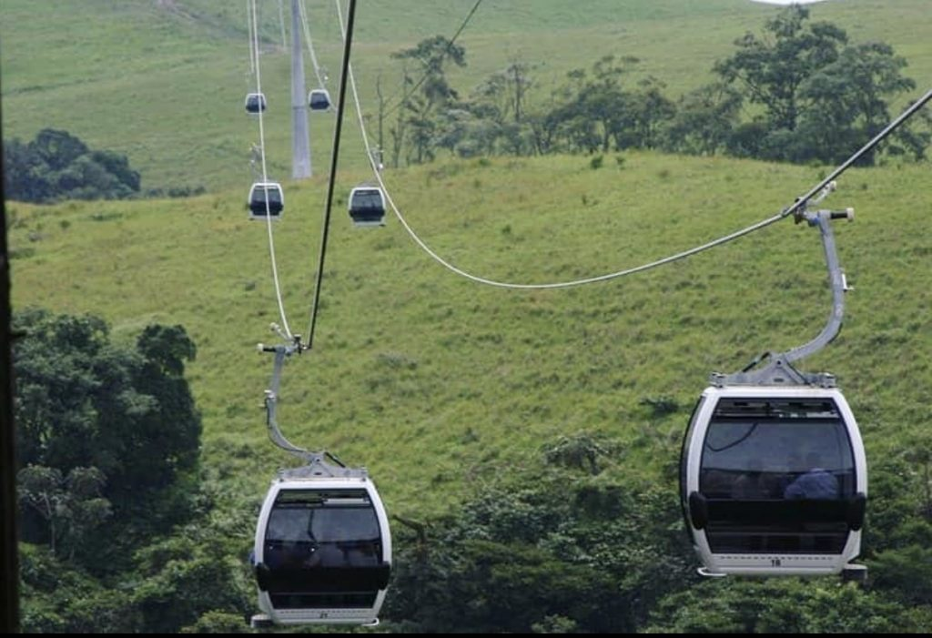 Obudu Mountain Resort cable cars